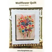Wallflower Quilt Pattern by Wendy Williams by Wendy Williams of Flying FIsh Kits - Wendy Williams
