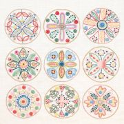 Sue Spargo Belgian Linen Embroidery Panel by Sue Spargo - Kits