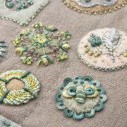 Sue Spargo Tranquil Garden Thread Kit by Sue Spargo - Kits