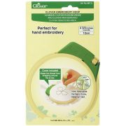 """Clover Embroidery Hoop Small 12cm (4.75"""") by Clover - Embroidery"""