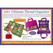 Yazzii 100+ Ultimate Thread Organizer Red CA635R by Yazzii - Thread Accessories