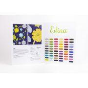 Efina Thread Colour Chart by Wonderfil Colour Card Booklets - Sue Spargo Efina 60wt Cotton