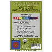 Colorful Sunflower Garden Pattern by Robin Long by Robin Ruth Designs - Robin Ruth