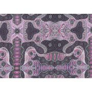 Regeneration Pink by Heather Kennedy by M & S Textiles - Cut from the Bolt