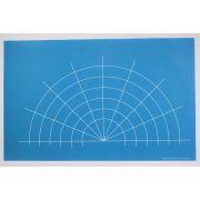 Full Line Stencil Mandala Guide A3 Stencil by Hancy Full Line Stencils - Pounce Pads & Quilt Stencils