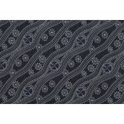 Stars in the Sky Black by Geraldine Riley by M & S Textiles - Cut from the Bolt