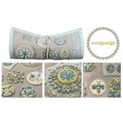 Sue Spargo Tranquil Garden Needle Roll Pattern by Sue Spargo - Sue Spargo
