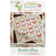 Butterflies Quilt Pattern, by Margot Languedoc by Pattern Basket - Quilt Patterns