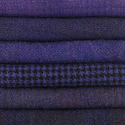 Sue Spargo Textured Wool Bundle - Blue Iris by Sue Spargo - Hand Dyed Wool by Sue Spargo Studios