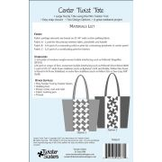 Center Twist Tote Pattern by Lisa Amundson by Twister Sisters Designs - Bag Patterns