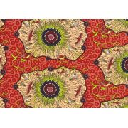 Yeerung Red by Nambooka by M & S Textiles - Cut from the Bolt