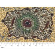 Yeerung Yellow by Nambooka by M & S Textiles - Cut from the Bolt