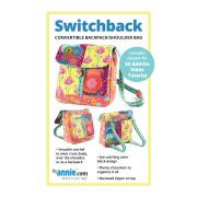 Switchback Convertible BackPack & Shoulder or Crossbody Bag Pattern by Annie Unrein by ByAnnie - Bag Patterns