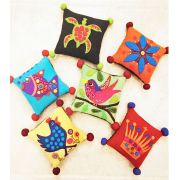 Woolly Pincushions Pattern by Wendy Williams by Wendy Williams of Flying FIsh Kits - Wendy Williams