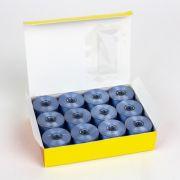 DecoBob Bobbins Size M - Sky Blue by Wonderfil Decobob Cottonised Poly - Bobbins Size M