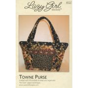 Towne Purse Pattern by Lazy GIrl Designs by Lazy Girl Designs - Bag Patterns