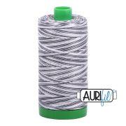 Aurifil Cotton Thread 40wt 1000 Metres, 4652 Liquorice Twist by Aurifil - 40wt Cotton 1000 Metres