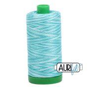 Aurifil Cotton Thread 40wt 1000 Metres, 4654 Turqouise Foam by Aurifil - 40wt Cotton 1000 Metres
