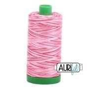 Aurifil Cotton Thread 40wt 1000 Metres, 4668 Strawberry Parfait by Aurifil - 40wt Cotton 1000 Metres
