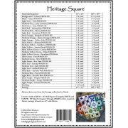 Heritage Square Quilt Pattern by Whirligig Designs - Quilt Patterns