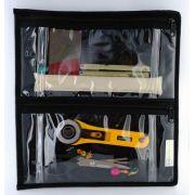 Sue Spargo Clear Four Pocket/Zipper Project Storage Pouch by Sue Spargo - Thread Accessories