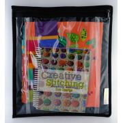 Sue Spargo Clear Two Pocket/Zipper Project Storage Pouch by Sue Spargo - Thread Accessories