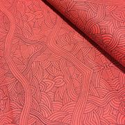 Untitled Red by Nambooka by M & S Textiles - Cut from the Bolt