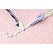 Clover Pink Fusible Bias Tape Maker 18mm by Clover - Bias Tape