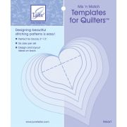 June Tailor Mix 'n Match Templates - Heart by June Tailor - June Tailor Templates