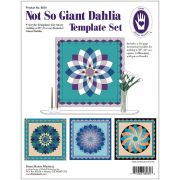 Marti Michell Not So Giant Dahlia Template Set by Marti Michell - Quilt Blocks
