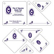 """Marti Michell Template Set B - Based on 4"""" Square by Marti Michell - Quilt Blocks"""