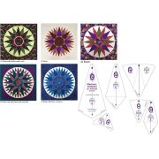 Marti Michell Mariner's Compass 20 inch Template Set by Marti Michell - Quilt Blocks