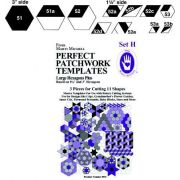 Marti Michell Template Set H - Large Hexagons by Marti Michell - Quilt Blocks