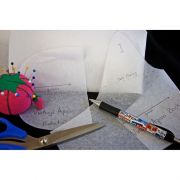 Pattern Ease Tracing Material 46 inches wide - White by  - Interfacing & Stabiliser