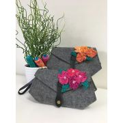 Aster & Anne Luella Clutch Small Felt Bag Kit by Aster and Anne - Kits
