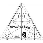 Marti Michell 60-degree Fussy Cutter Template by Marti Michell - Quilt Blocks