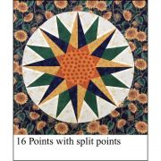 """Marti Michell Mariner's Compass 14"""" Template Set by Marti Michell - Quilt Blocks"""