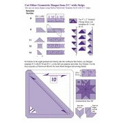 """Marti Michell 2 ½"""" Strippers Set by Marti Michell - Quilt Blocks"""