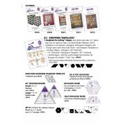 """Marti Michell Kite & Crown 2"""" Template set by Marti Michell - Quilt Blocks"""