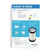 Rinse 'n Gone Washaway Thread by Wonderfil Rinse 'N Gone Washaway Poly - Water Soluble Thread
