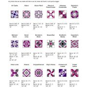 """Marti Michell Template Set A - Based on 3"""" Square by Marti Michell - Quilt Blocks"""