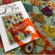 Chick Play Sampler Series by Sue Spargo (Template & Pattern) by Sue Spargo - Sue Spargo