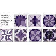 Marti Michell Multi-Size Kite Ruler by Marti Michell - Quilt Blocks