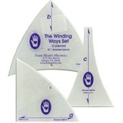 "Marti Michell Winding Ways Set - 8.5"" by Marti Michell - Quilt Blocks"
