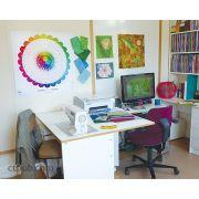 "Studio Color Wheel 28"" Poster by C&T Publishing - Colour & Design Tools"