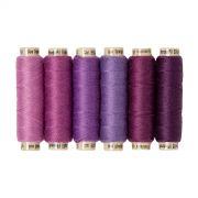 Sue Spargo Ellana Wool Thread Pack- VIolet by Sue Spargo Ellana Wool - Sue Spargo Ellana 12wt Wool