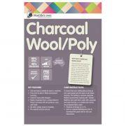 Matilda's Own Charcoal 60/40 Wool Polyester Batting Roll 30 metres x 2.4 metres by Matilda's Own - Bulk Rolls of Batting