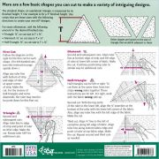 Clearview Super 60 Triangle Ruler by Quilt with Marci Baker - Triangles 60 Degrees