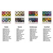 Wonderfil Eleganza 8wt Ball Pack - Pastels by Wonderfil Eleganza Perle 8 Balls - Thread Collections