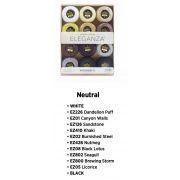 Wonderfil Eleganza 8wt Ball Pack - Neutrals by Wonderfil Eleganza Perle 8 Balls - Thread Collections
